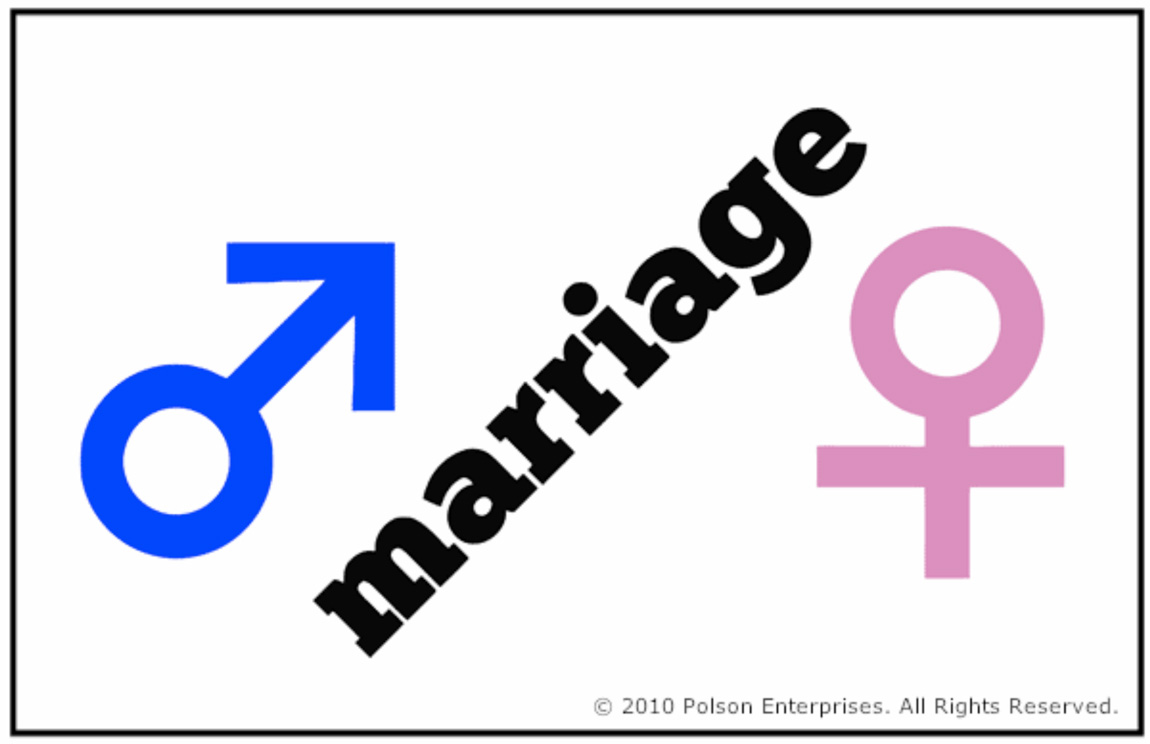 Marriage is between a man and a woman marriage is between a man and a woman buycottarizona Image collections