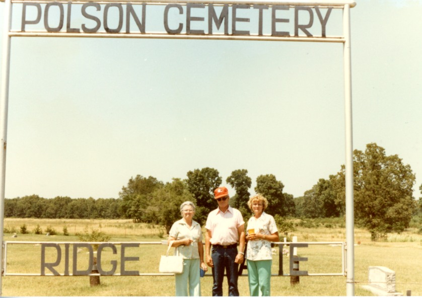 Polson Cemetery, near Southwest City, Missouri